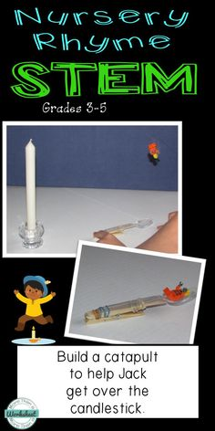 Big kids like nursery rhymes, too! Engineering tasks based on familiar rhymes. Students will build a catapult to help Jack get over the candlestick. More Than a Worksheet $