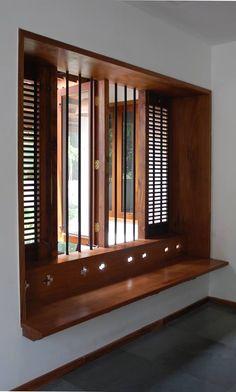 Wooden Built-in Seat