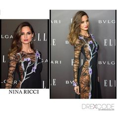 Adriane Artiles in Nina Ricci at Elle Style Awards in Madrid-->> coming soon for rent on www.drexcode.com ! #adrianeartiles #ninaricci #rent #model #ellestyleawards #elle