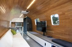 15 Cool Mobile Homes - Trailers Interiors | Trailer interior, Rv and ...