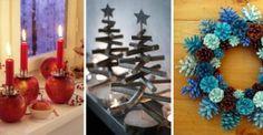 13 pomysłów na dekoracje, które zrobisz sama z naturalnych materiałów ❄️ [ŚWIĄTECZNE DIY] ❄️