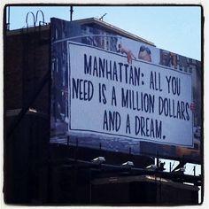 Manhattan Mini Storage's ad, NYC