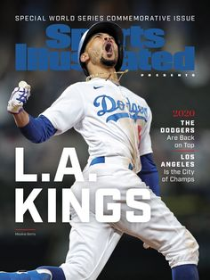 CONGRATS 2020 LA Dodgers! MLB World Champions finally after 32yrs (last-1988) and WS tries in (3 yrs)! Game 6...LA Dodgers beat TB Rays (3-1) (google.image) 10.2020 (WSC 4-2 win series) Oct 27, 2020 Dodgers Win, Dodgers Nation, Baseball Guys, Dodgers Baseball, Sports Illustrated Covers, Mookie Betts, Award Winning Photography, Champion Sports, Mlb Teams