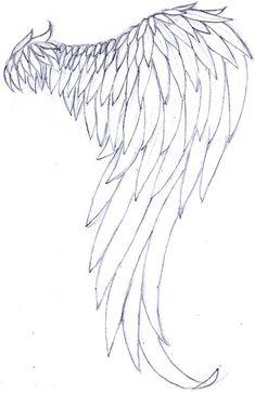 Single Angel Wing by on deviantART
