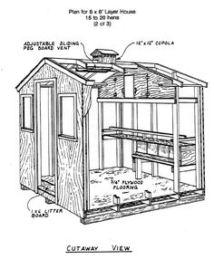 This could be made to look vintage. Would keep chickens nice and cozy and safe! Backyard Chicken Coop Plans, Chicken Coop Pallets, Easy Chicken Coop, Chicken Coup, Chicken Garden, Chicken Coop Designs, Small Chicken, Building A Chicken Coop, Chicken Runs