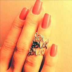 #anel #love #acessorios #raquelbraga