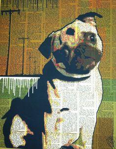 Dog art...