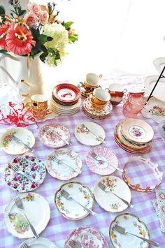 tea party by jody