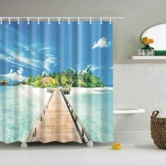 Cartoon Recreational Activity with Mountains Lake and Trees Design Traveling Theme 70 inches Lunarable Camping Shower Curtain Multicolor Cloth Fabric Bathroom Decor Set with Hooks