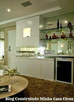 Construindo Minha Casa Clean: 21 Bares e Adegas Modernas em Casa! Veja Dicas e…