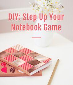 Printed Notebook DIY Tutorial
