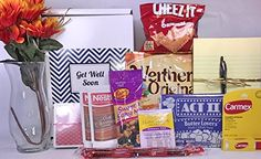 Get Well Gift Box Basket  For Surgery  Injury  Cold  Flu  Illness  Over 2 Pounds of Care Concern and Love in This Care Package  Send a Smile Today *** Read more at the image link.