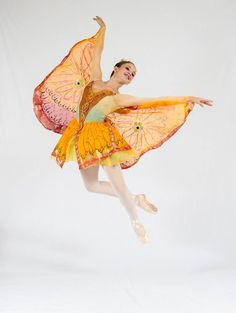 World Ballet Inc. butterfly in the Waltz of the Flowers
