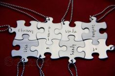 Unique Personalized Gift for friends/BFF-Hand by PrettyByPriscilla