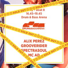 Sunday Boat 8 - Drum & Bass Arena *Sold Out*