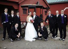 Ohio Village Fall Wedding, Columbus, Barn.   Columbus Ohio Wedding Venue   Ohio Village Wedding