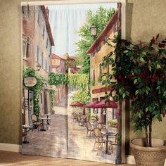Cafe Scene Trompe l'oeil Window Art             S168-001