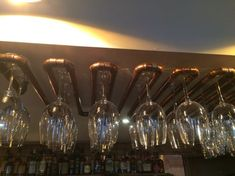 48 Creative Hanging Wine Rack Designs With Glass Holder - Dlingoo