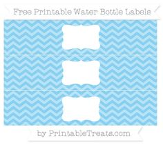 Free Water Bottle Label Template - √ 30 Free Water Bottle Label Template , Baby Girl Shower Free Printables How to Nest for Less™ Chevron Azul, Green Chevron, Baby Shower Azul, Birthday Banner Template, Baby Shower Labels, Printable Water Bottle Labels, Label Templates, Baby Blue, Pastel Pink