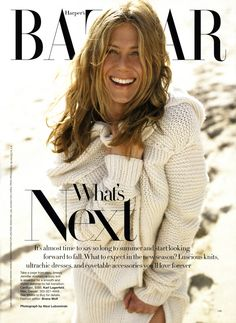 Jennifer Aniston | Photography by Alexi Lubomirski | For Harper's Bazaar US | June 2006
