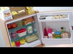 Re-Ment Rilakkuma Frigorífico Y Mercado Natural Completa refrigerador Conjunto Unboxing Re-Ment Rilakkuma Natural Market - YouTube