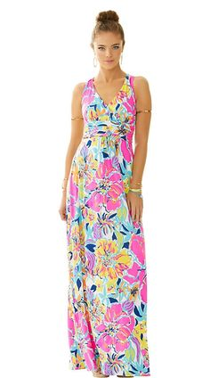 Lilly Pulitzer Amada Maxi Dress in Besame Mucho. So glad I bought this one!