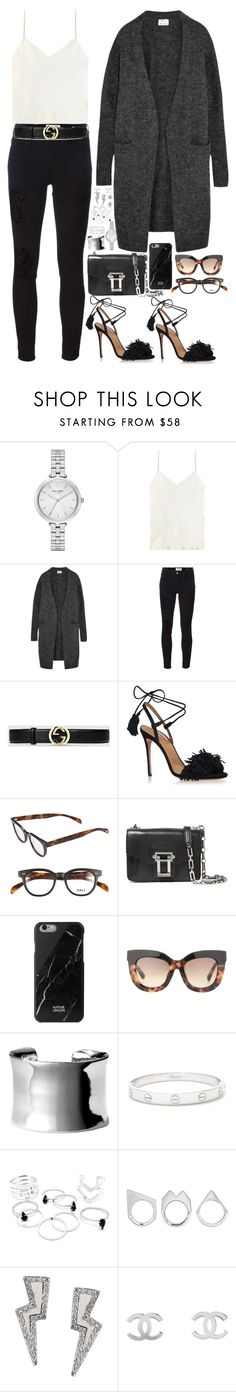 """Sans titre #784"" by janewithouttarzan ❤ liked on Polyvore featuring Kate Spade, Calvin Klein Collection, Acne Studios, Frame Denim, Gucci, Aquazzura, Proenza Schouler, Native Union, Erdem and Nordstrom"