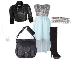 """""""clubbing outfit"""" by readb on Polyvore"""