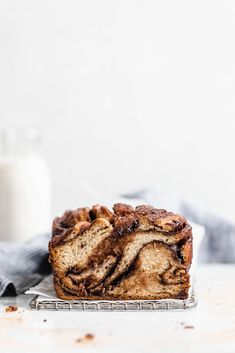 Cinnamon Chocolate Babka - Broma Bakery Israeli Food, Israeli Recipes, Broma Bakery, Chocolate Babka, Bread Bun, Jewish Recipes, How To Make Chocolate, Sweet Bread, No Bake Desserts