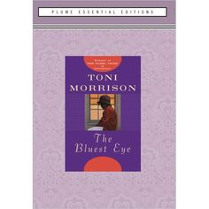 'The Bluest Eye' Toni Morrison's first novel, heralded for its richness of language and boldness of vision.  Set in the author's hometown of Lorain, Ohio, it tells the story of black, eleven-year-old Pecola Breedlove. Pecola prays for her eyes to turn blue so that she will be as beautiful and beloved as all the blond, blue-eyed children in America. In the autumn of 1941, the year the marigolds in the Breedloves' garden do not bloom. Pecola's life does change- in painful, devastating ways…