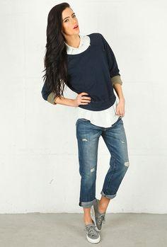 Crea 12 estilos diferentes con tus jeans