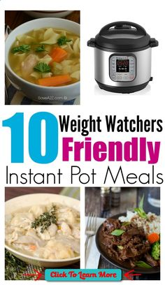 #FastestWayToLoseWeight by EATING, Click to learn more, 10 Weight Watchers Friendly Instant Pot Recipes , #HealthyRecipes, #FitnessRecipes, #BurnFatRecipes, #WeightLossRecipes, #WeightLossDiets