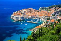Encyclopedia of Knowledge: The most beautiful tourist places in the city of Dubrovnik in Croatia Honeymoon Destinations, Amazing Destinations, Honeymoon Ideas, Best Places To Travel, Places To Visit, Croatia Travel Guide, Croatia Tours, Visit Croatia, Walled City