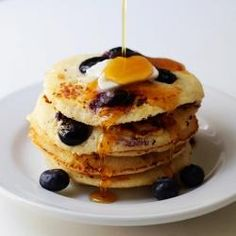 #177738 - Ricotta Pancakes with Blueberries