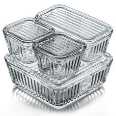 Anchor Glass Containers Set