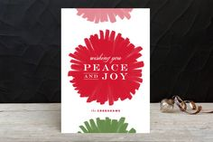 Festive & Fab Holiday Cards by Carrie ONeal at minted.com