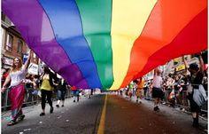 Gay pride banner