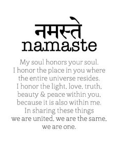 sanskrit words how to write namaste - Google Search