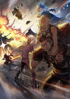 """""""エピソードグラディオ楽しみだなぁー!(色々間違ってる)"""" Final Fantasy XV"""