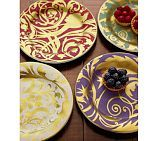 Can you see it? I can..... Florentine Angel Jewel Salad Plates at PB