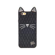 Katy Perry Black Cat Phone Case - iPhone 6, all, Phone & iPod Cases,... (24 CAD) ❤ liked on Polyvore featuring accessories and tech accessories