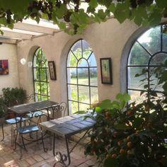 Växthuset | Backagården i Löderup Provence, Interior Decorating, Patio, Outdoor Decor, Furniture, Design, Sweden, Heaven, Home Decor