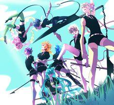 Anime Angel, Anime Demon, Manga Anime, Slayer Meme, Demon Slayer, Anime Crossover, Fanart, Haikyuu, Kamigami No Asobi