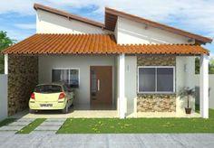 Fachadas de Casas com Garagem - Fotos e Modelos - Dicas Atuais