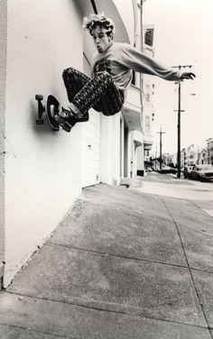 80's skateboarding @matttt . :p...