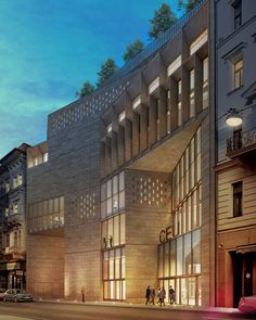 O'Donnell + Tuomey's Central European University In Budapest Breaks Ground