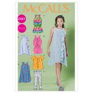 Girls'/Girls' Plus Top, Rompers, Dresses and Leggings-PLS (10.5-12.5-14.5-16.5) Pattern
