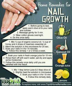Nail growth