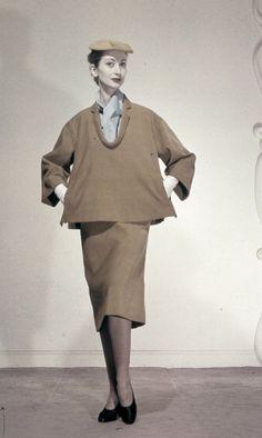 1951  ensemble by Balenciaga, Spring Collection