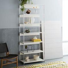 "Lacquer Storage Bookshelf - 33"" #westelm"